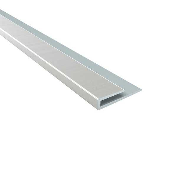 Fasade Fasade 4-foot J-Trim Brushed Nickel