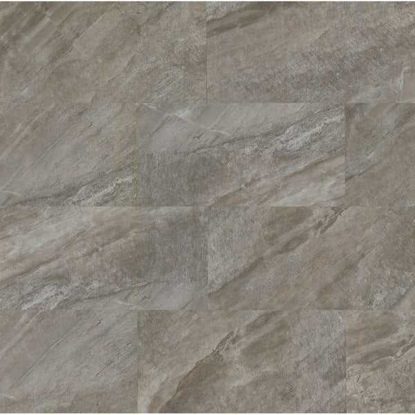 Stone Mountain Gris Porcelain 12-inch x 24-inch Tiles (Case of 9)